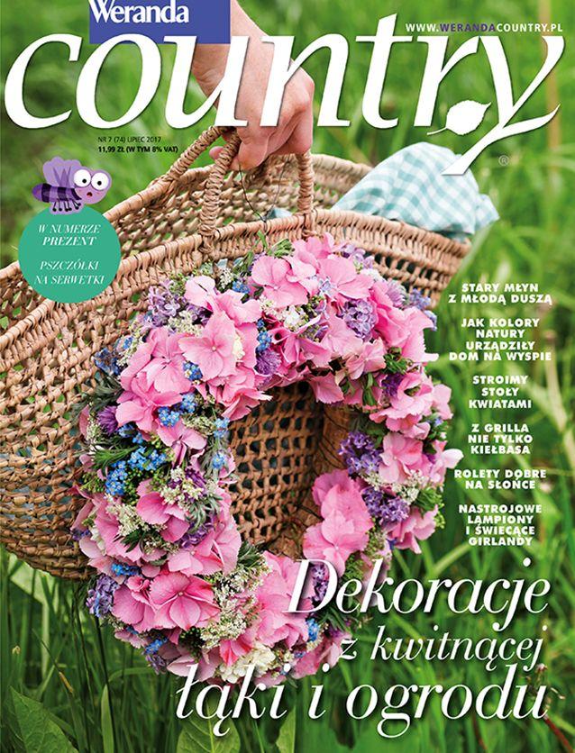 Weranda Country 7/2017 Lipiec #magazyn #Weranda #Country #Lipiec