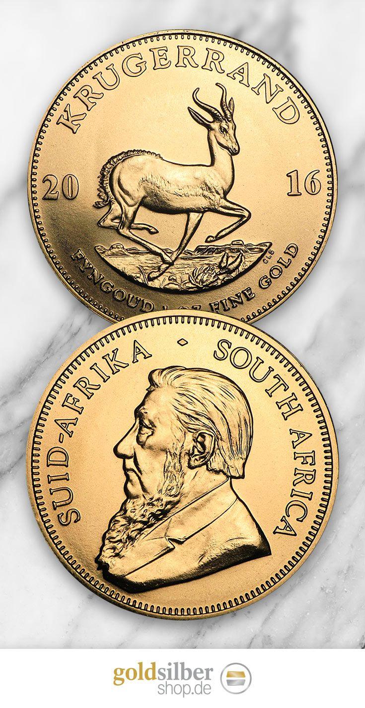 Krügerrand Goldmünze (1 Unze) - Das goldene Wahrzeichen Südafrikas