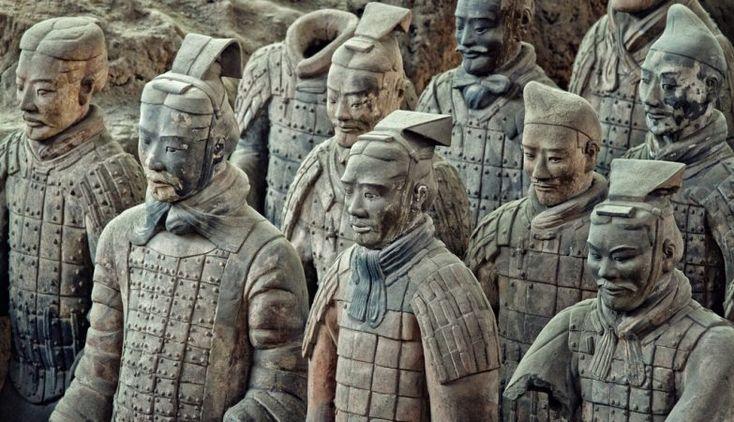 O famoso exército de Terracota de Qin Shi Huang tinha uma arma secreta: uma besta com um alcance de 800m