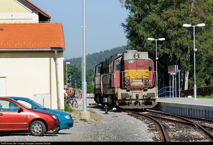 RailPictures.Net Photo: CD 743 004 4 Ceske Drahy CD 743 at Cerna v Posumavi, Czech Republic by Jaroslav Dvorak