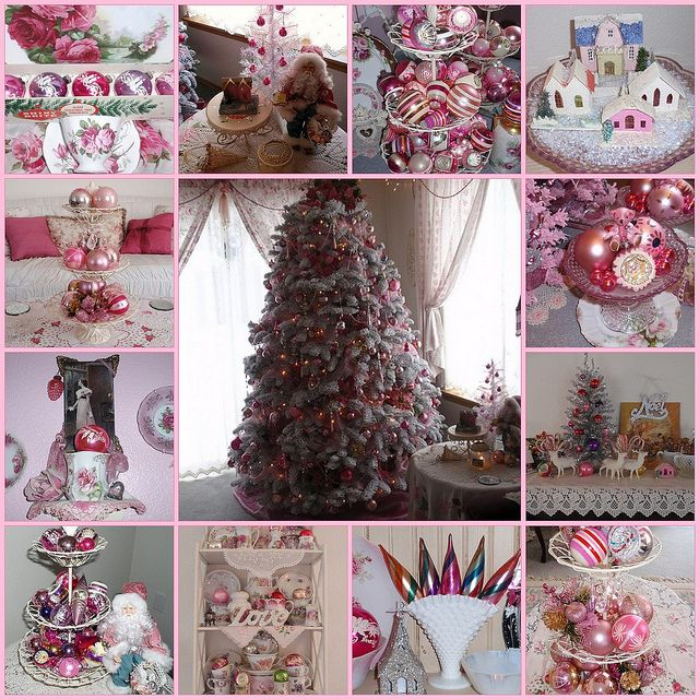 ~Vintage Pink Christmas~ by eg2006, via Flickr