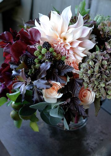 Fall Flowers | claredayflowers.ca❈ Fleurs Foncées ❈ dark art photography flowers & botanical prints -