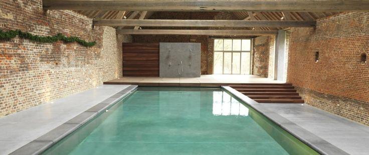 Binnenzwembad | Willy Naessens Swimmingpools binnenzwembaden