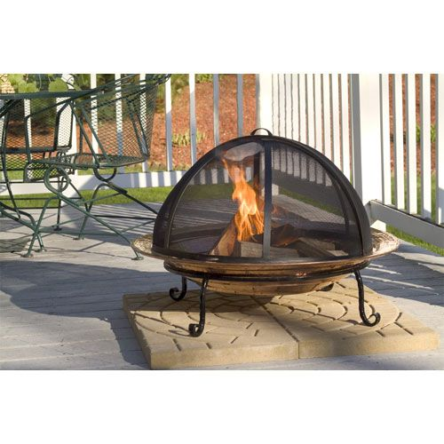 Extra Large Fire Pit Spark Screen Good Directions Fire Pits Fire Pits Outdoor