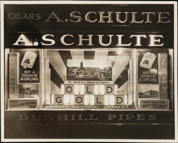 [A. Schulte cigar store.]