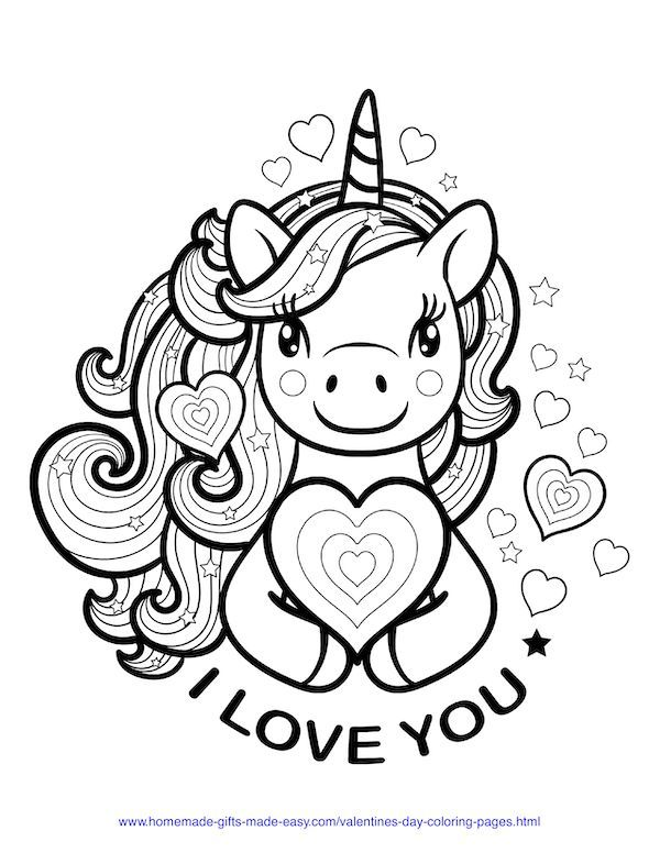 50 Free Printable Valentine S Day Coloring Pages Valentines Day Coloring Page Unicorn Coloring Pages Love Coloring Pages