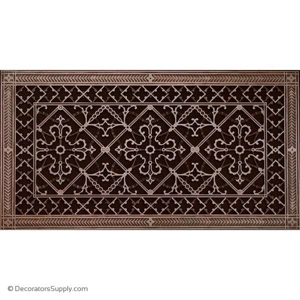 Resin Artes Crafts Grille 12x24 Duct 14 X 26 Frame Bai Hvac Grille Vent Cover Decorators Supply Vent Covers Decorative Vent Cover Historic Preservation