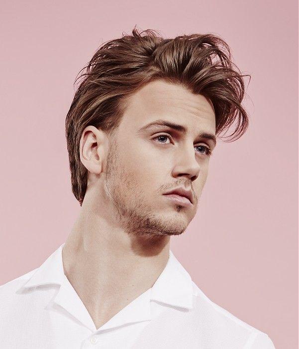Medium Brown Hairstyles | Mens hairstyles medium straight, Medium length hair styles, Mens messy ...
