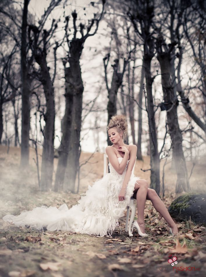 Fairytale by Eric - Fashion bridal themed shoot.