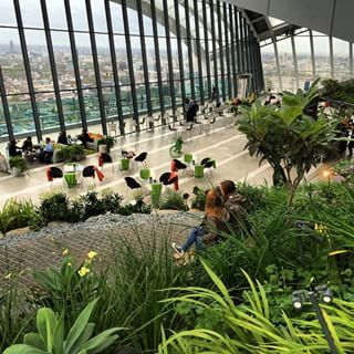 Cute date idea! The Walkie Talkie building has a Sky Garden. | 18 Things No One Tells You About London