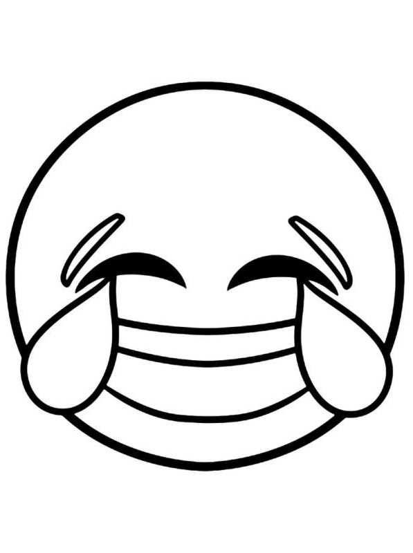 ausmalbilder emoji laugh 3847328475 desenho de emoji