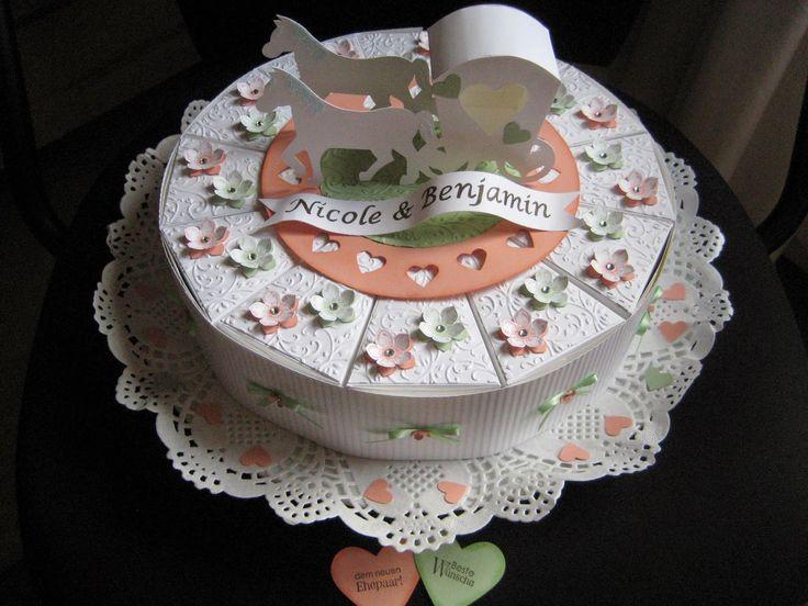 Kreativ am Deich : ....und heute Bastelfreundinprojekte....zur Hochzeit....
