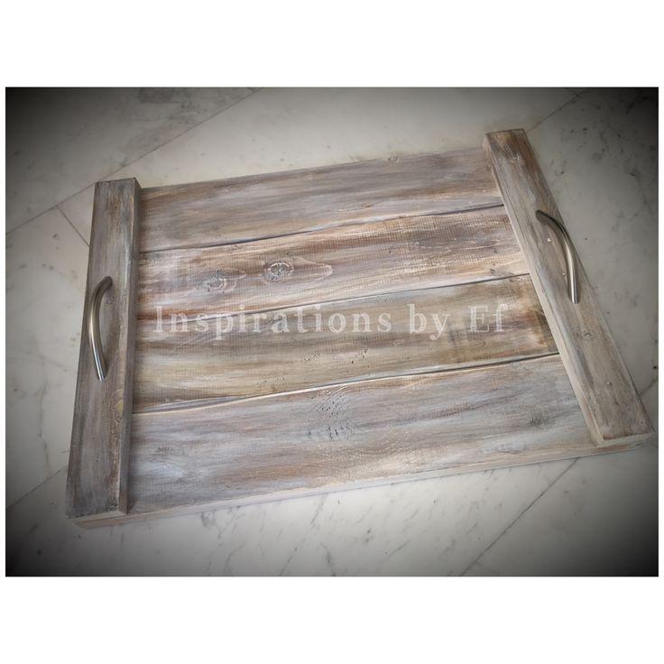Ξύλινος χειροποίητος δίσκος γάμου...διασκόσμηση.. Handmade wooden tray..