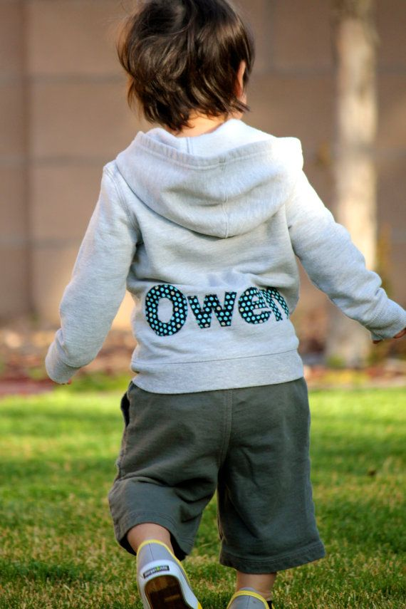 Personalized sweatshirt Baby or Toddler by PatchesandPuppies, $34.00