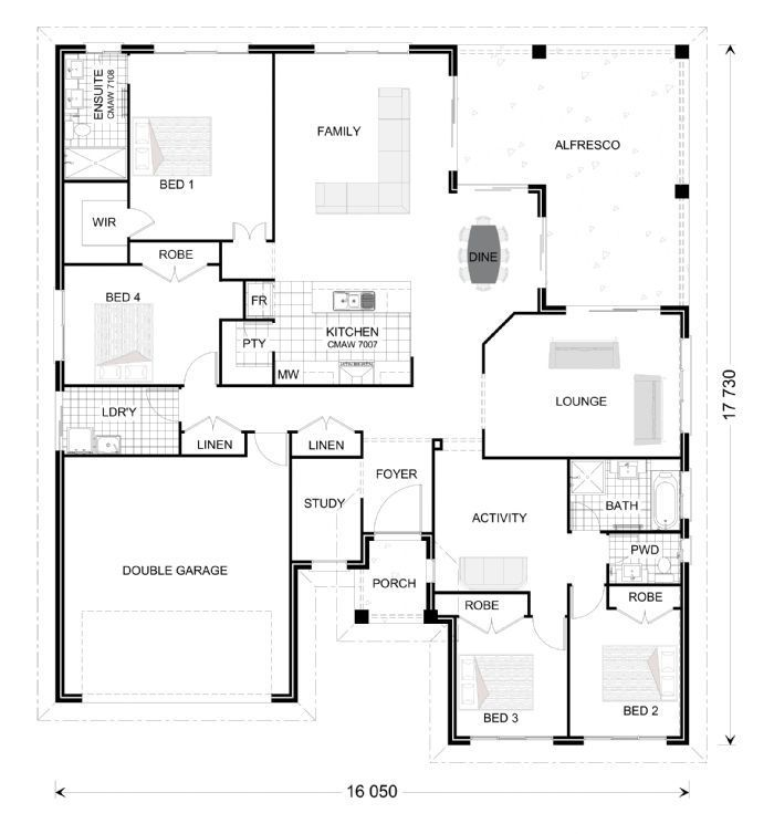 Freshwater 264, Our Designs, South Australia Builder, GJ Gardner Homes South Australia