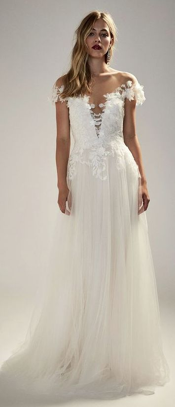 Courtesy of Tadashi Shoji wedding dresses; www.tadashishoji.com