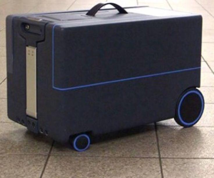 The suitcase of the future will follow you around like a puppy  http://mashable.com/2016/01/07/robot-suitcase/#uKU8lje9Gqqc #SmartSuitcase #Luggage #Suitcase #Travel #Robot #Robotics #NUARobotics NUA Robotics #Invention Indiegogo #ThrillThrush Thrill Thrush Thrill Thrush India #TravellersFeet Travellers Feet