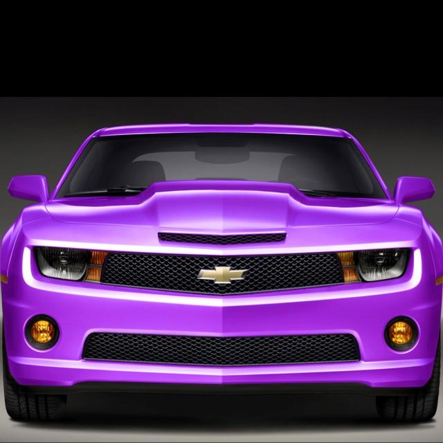 Purple Camaro 2014 Purple camaro!