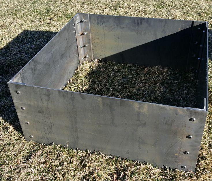 Kitchen Garden Box With Wire Top: 25+ Best Ideas About Corten Steel Planters On Pinterest