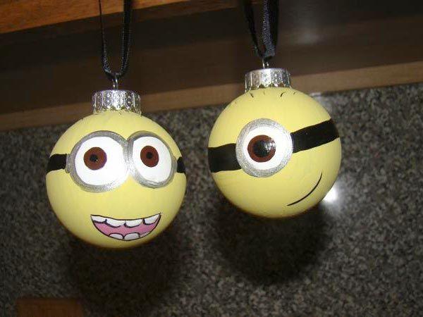 Minion Christmas Ornaments 20+ Cute Ideas Of Handmade Christmas Ornaments 2013