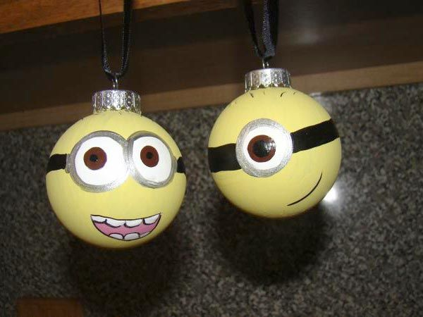 Minion ornaments, Minions and DIY and crafts on Pinterest