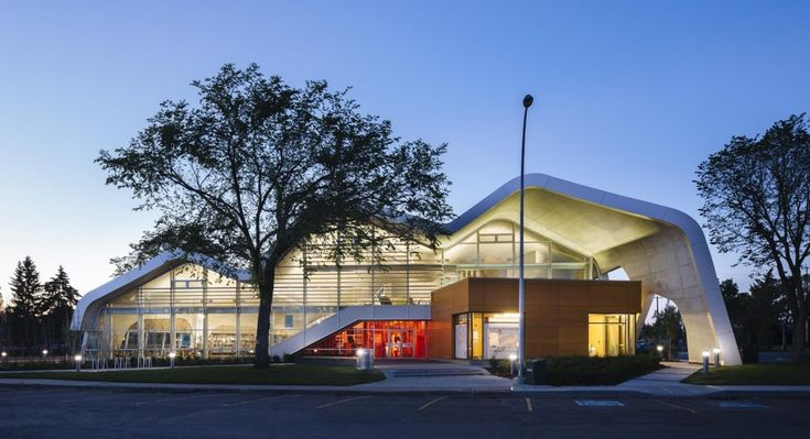 Jasper Place Branch Library in Edmonton, Canada.