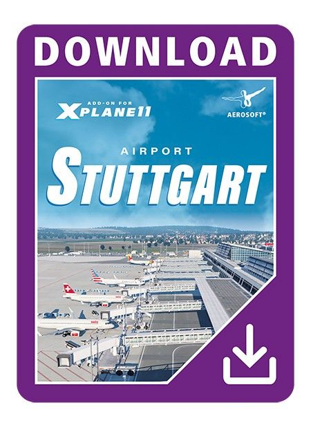 AEROSOFT : Airport Stuttgart XP Airport Stuttgart brings the international airport of the German state of Baden-Württemberg into the flight simulator XPlane 11. In good tradition, the award winning German Airports team and Peter Hiermeier provide this scenery of Stuttgart airport in a stunning quality.This add-on of Stuttgart airport represents the latest status of development of the real airport. The buildings, the layout of the runways and taxiways as well as the navaids are exactly as…