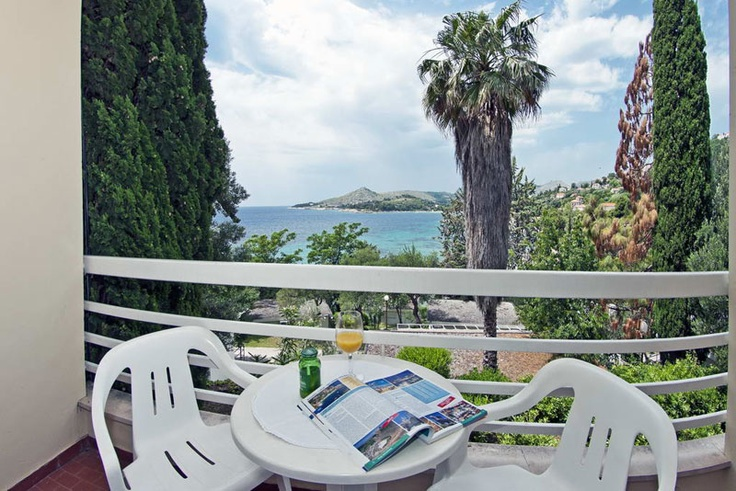 View From the Balcony - Hotel Astarea #Dubrovnikhotels