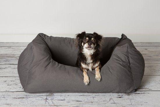 Rebel Petz - Hondenmand - S 80 x  67 cm - Grey