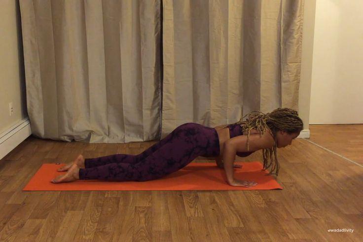 How to do Chaturanga Dandasana (Low Plank)