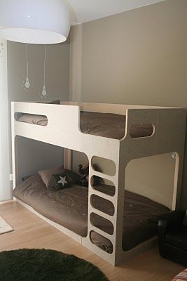 bunk bed cause I dont think kids should have a room all to themselves unless he/she is an only child.