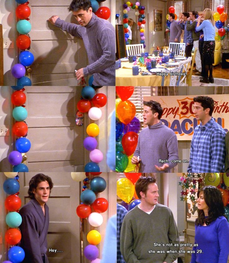 Friends F R I E N D S Friends Tv Birthday Quotes