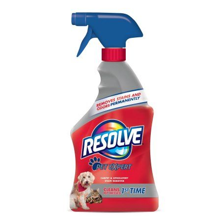 Resolve Pet Stain Remover Carpet Cleaner, 22 Ounce