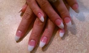 Image result for how to do your own nails stiletto nails