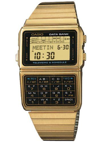 Casio Men's Watch DBC610GA-1DF    For premium geeks. Imagine if they made a new version with Bluetooth + Calendar Sync via smartphone? Please Casio, Please!