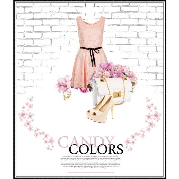 """Candy Coloured Bridesmaid"""