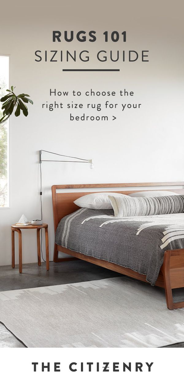 Learn How To Choose The Right Size Rug For Your Bedroom In