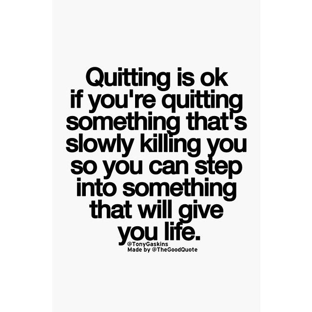 Quotes For Quitting One Sided Relationship: 25+ Best Quitting Quotes On Pinterest