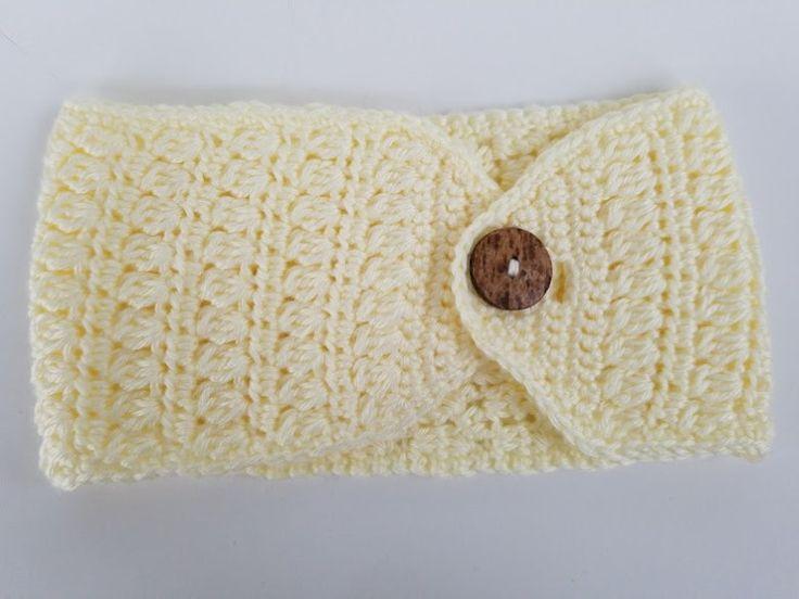 429 best Crochet Headband Ear Warmer images on Pinterest | Tejidos ...