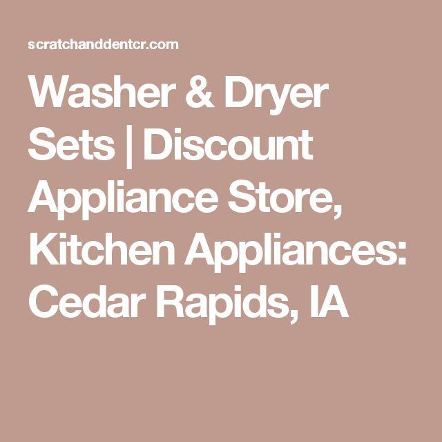 Washer U0026 Dryer Sets   Discount Appliance Store, Kitchen Appliances: Cedar  Rapids, IA