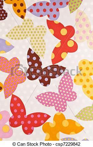 vlinder behang | Stock Foto - vlinder, weefsel, behang, achtergrond - stock beelden ...