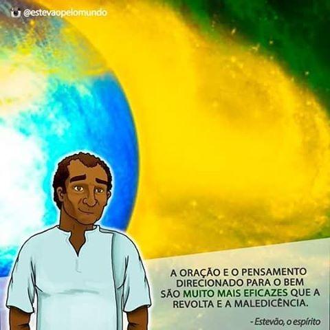 Irmãos, estejamos unidos em prece neste momento de tantas provações pelas quais passam o povo brasileiro. Não vos deixem tomar pela revolta, pois ela corrói vosso coração e instaura uma massa de energia densa e escura sobre todos. Orem, pois as falanges do bem estão fazendo o seu trabalho também! Fiquem na paz!