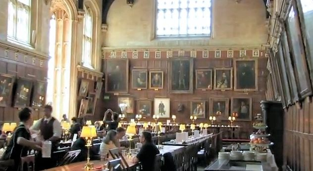 This short video, made by Paul Matwiy for the Oxford Experience, shows details of Cardinal Wolsey's Great Hall at Chrrst Church.    Wolsey built the Hall and Kitchen as part of Cardinal's College.  When he fell from grace in 1529 the college became the property of King Henry VIII.  Henry re-founded the College in 1546 and appointed the old monastery church as cathedral of the new diocese of Oxford.  The Hall is the largest in Oxford and gained fame as the model for Hogwart's Hall in the…