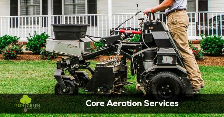 Lawn aeration or core aeration services from Lush Green Landscapes 3210 C 1/2 Rd Palisade, CO 81526 (970) 201-1967