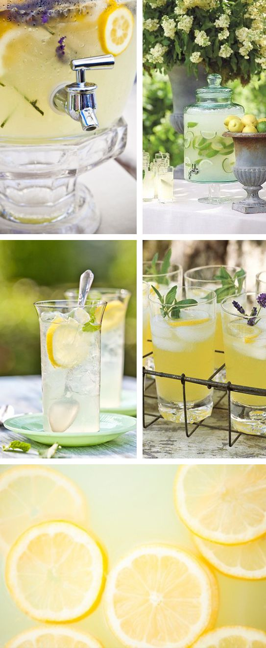 Citronnade bar / Cocktail Bar pour votre Vin d'honneur. Offrez à vos invités une pause rafraîchissante !