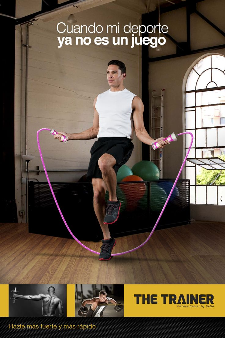Campaña de publicidad para gimnasio especializado en entrenarte para cuando tu deporte ya no es un juego.