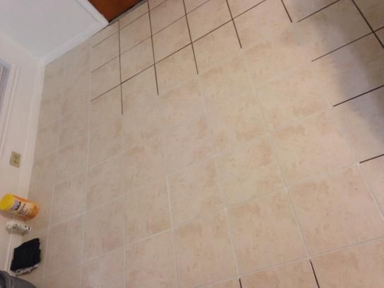 Cleaning Bathroom Floor Tile Grout