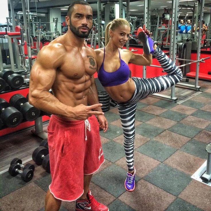 Lazar Angelov a great workout with Yanita Yancheva.