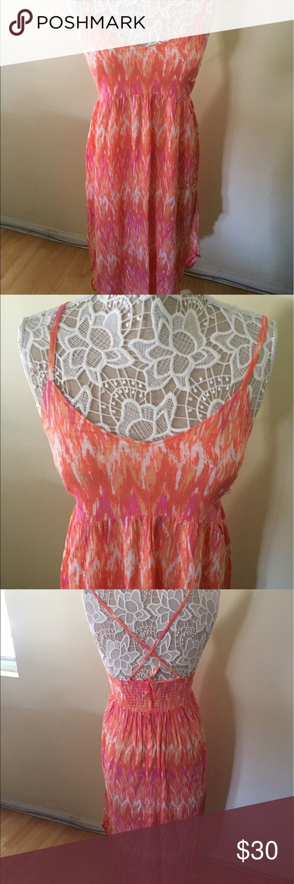 Columbia Sportswear Summer Dress New, never worn summer dress.  Too small for me.  Great for the summer. Columbia Dresses Midi