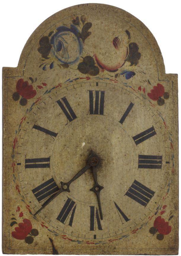 Zegar orawski, Muzeum — Orawski Park Etnograficzny w Zubrzycy Górnej / Orava clock, Orava Ethnographic Park Museum in Zubrzyca Górna